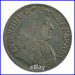 1/2 Ecu au Parlement Louis XIV 1679