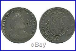 1/2 Ecu de Flandres aux Palmes Louis XIV 1694