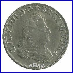 1/4 Ecu Carambole Louis XIV 1688
