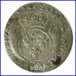 #10330 Louis XIV, 1/12 Ecu aux Palmes