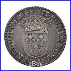 #10340 Louis XIV, ¼ Ecu à la Mèche Courte