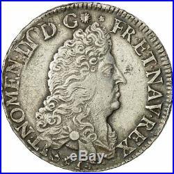 #472097 Monnaie, France, Louis XIV, 1/2 Écu aux 8 L, 1/2 Ecu, 1691, Amiens