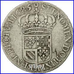 #472098 Monnaie, France, Louis XIV, 1/2 Écu de Flandre, 1685, Paris, Gadoury