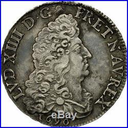 #473108 Monnaie, France, Louis XIV, 1/2 Écu aux 8 L, 1/2 Ecu, 1690, Amiens