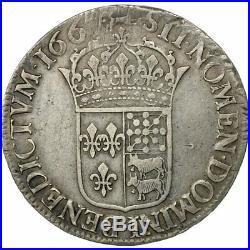 #473564 Monnaie, France, Louis XIV, Écu de Béarn au buste juvénile