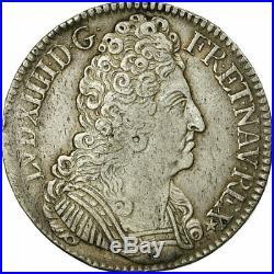 #474642 Monnaie, France, Louis XIV, Écu aux 3 couronnes, Ecu, 1709, Paris
