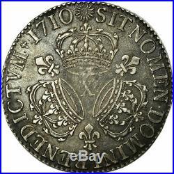 #474644 Monnaie, France, Louis XIV, Écu aux 3 couronnes, Ecu, 1710, Amiens