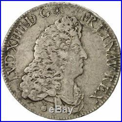 #481169 France, Louis XIV, 1/2 Écu de Flandre, 1685, Paris, TTB+, Argent