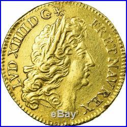 #484714 Monnaie, France, Louis XIV, Louis d'or à l'écu, Louis d'Or, 1690