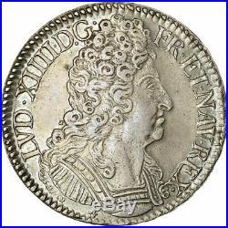 #485584 Monnaie, France, Louis XIV, Écu aux 3 couronnes, Ecu, 1712, Bordeaux