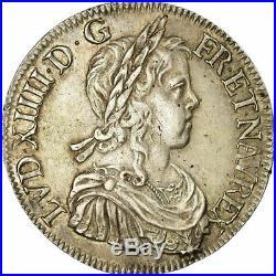 #485585 Monnaie, France, Louis XIV, Écu à la mèche longue, Ecu, 1647