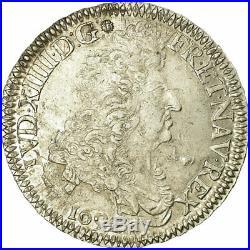 #485588 Monnaie, France, Louis XIV, Écu aux 8 L, Ecu, 1692, Bordeaux, TTB