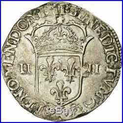 #485811 Monnaie, France, Louis XIV, 1/4 Écu, frappé au marteau, 1/4 Ecu