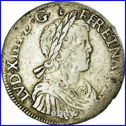 #485977 Monnaie, France, Louis XIV, Écu à la mèche longue, Ecu, 1653