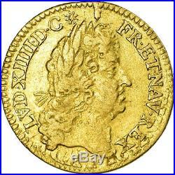 #486307 Monnaie, France, Louis XIV, 1/2 Louis d'or à l'écu, 1/2 Louis d'or