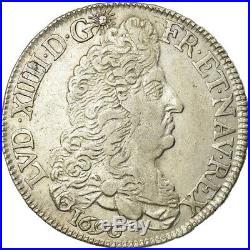 #488757 Monnaie, France, Louis XIV, 1/2 Écu aux 8 L, 1/2 Ecu, 1690, La
