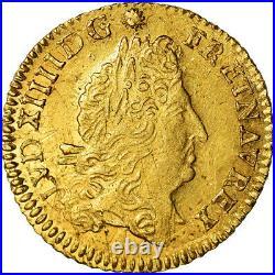#489604 Monnaie, France, Louis XIV, 1/2 Louis d'or à l'écu, 1/2 Louis d'or