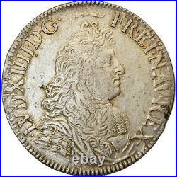 #489901 Monnaie, France, Louis XIV, Écu à la cravate, Ecu, 1679, Paris, TTB
