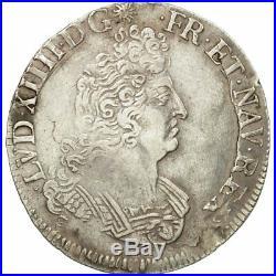 #494503 Monnaie, France, Louis XIV, 1/2 Écu aux 8L 2e type, 1704, Tours, TTB