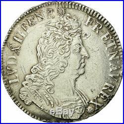 #496324 Monnaie, France, Louis XIV, Écu aux insignes, Ecu, 1702, Paris, TTB
