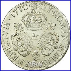 #515062 Monnaie, France, Louis XIV, Ecu aux 3 couronnes, 1710, Aix en