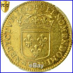 #515407 Monnaie, France, Louis XIV, 1/2 Louis d'or à l'écu, 1691, La