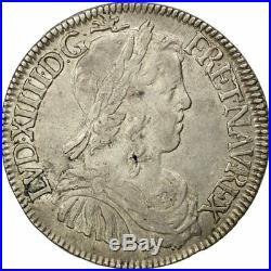 #652151 Monnaie, France, Louis XIV, 1/2 Écu à la mèche longue, 1/2 Ecu