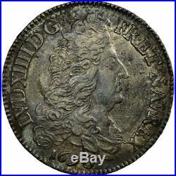 #652787 Monnaie, France, Louis XIV, 1/2 Écu aux 8 L, 1/2 Ecu, 1690, Paris