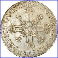 #853239 Monnaie, France, Louis XIV, Écu aux 8 L 2e type, Ecu, 1705, Paris