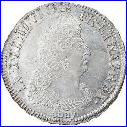 #854914 Monnaie, France, Louis XIV, 1/2 Écu aux palmes, 1/2 Ecu, 1694, Tours
