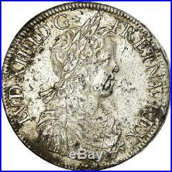 #861099 Monnaie, France, Louis XIV, Écu à la mèche longue, Ecu, 1651