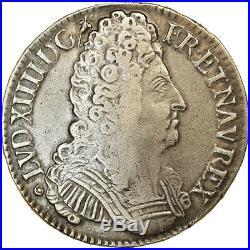 #864065 Monnaie, France, Louis XIV, Écu aux 3 couronnes, Ecu, 1710, Bayonne