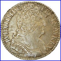 #864075 Monnaie, France, Louis XIV, 1/2 Écu aux 3 couronnes, 1/2 ECU, 36 Sols