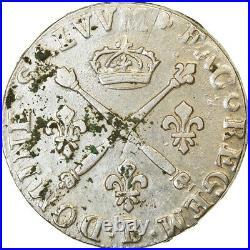 #864082 Monnaie, France, Louis XIV, 20 Sols aux insignes, 1/4 Ecu, 1708