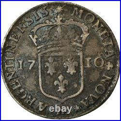 #864086 Monnaie, France, Louis XIV, 11 Sols de Strasbourg, 10 Sols-1/8 Ecu