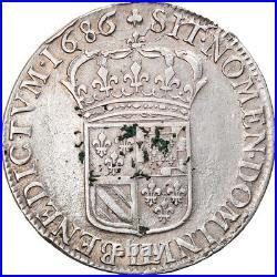 #865316 Monnaie, France, Louis XIV, Écu de Flandre, Ecu, 1686, Lille, TTB