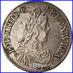 #872746 Monnaie, France, Louis XIV, 1/2 Écu à la mèche longue, 1/2 Ecu