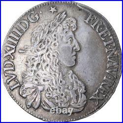 #874842 Monnaie, France, Louis XIV, Écu au buste juvénile, Ecu, 1665