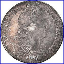 #877183 Monnaie, France, Louis XIV, Écu aux 3 couronnes, Ecu, 1709, Caen