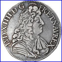#877868 Monnaie, France, Louis XIV, 1/2 Écu à la cravate, 1/2 Ecu, 1680