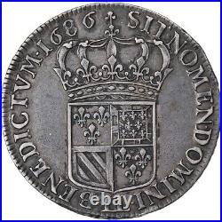 #902525 Monnaie, France, Louis XIV, Écu de Flandre, Ecu, 1686, Lille, TTB+