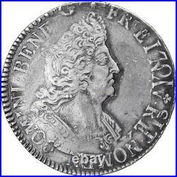 #902758 Monnaie, France, Louis XIV, Ecu aux 8 L, Lille, TTB, Argent