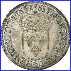 #980177 Monnaie, France, Louis XIV, Ecu, 1651, Paris, SUP, Argent