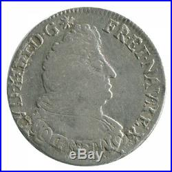 Demi Ecu aux Palmes Louis XIV 1693