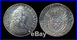 Ecu aux Palmes 1698A Paris Louis XIV Côte TTB 400, SUP 1200