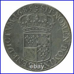 Ecu de Carambole Louis XIV 1685