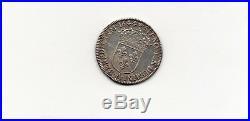 FRANCE monnaie de 1/4 écu LOUIS XIV à la meche courte 1644 A Paris rose qualité