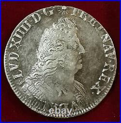 France, Louis XIV ou XIIII, 1/2 Écu aux Palmes, 1694 W Lille