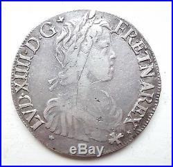 LOUIS XIV écu de navarre à la mèche longue 1659 St Palais