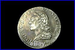 LOUIS XV ECU vielle tète 1774 I= LIMOGES SUP cote 1300 euro ètat TTB aSUP